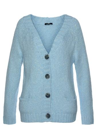 Mavi Strickjacke »BUTTON UP CARDIGAN«, mir Knöpfen in Hornoptik kaufen