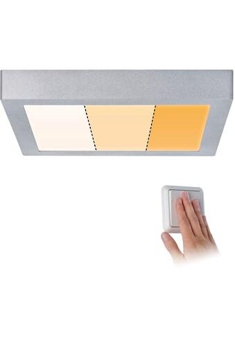 Paulmann LED Deckenleuchte »Carpo LED Panel Warmdimmfunktion Chrom matt 16W Metall«,... kaufen