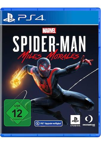 PlayStation 4 Spiel »Marvel's Spider-Man: Miles Morales«, PlayStation 4 kaufen
