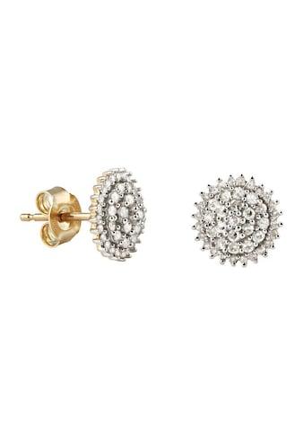 Firetti Paar Ohrstecker »Blume/Blüte«, mit Diamanten kaufen