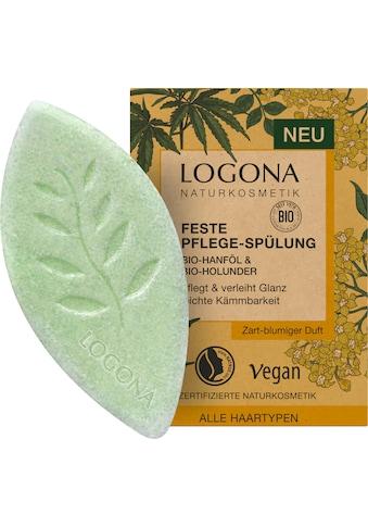 LOGONA Haarspülung »Logona Feste Spülung Hanföl & Holunder« kaufen