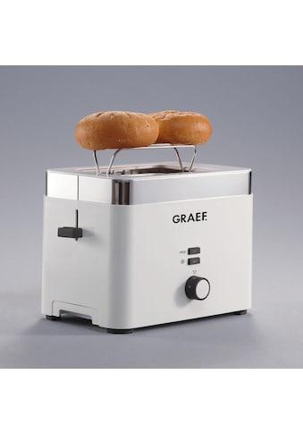 Graef Toaster »TO 61«, für 2 Scheiben, 888 Watt kaufen