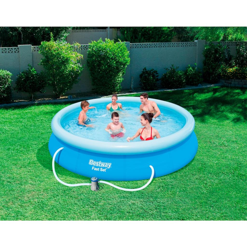 Bestway Quick-Up Pool »Fast Set™«, (Set), mit Filterpumpe, ØxH: 366x76 cm