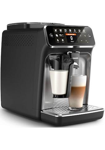Philips Kaffeevollautomat »4300 Series EP4346/70 LatteGo«, silber/mattschwarz kaufen