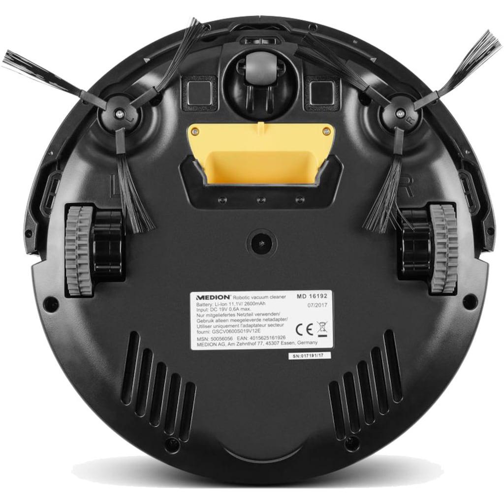 Medion® Saugroboter »MD 18500 grau -Tierhaar optimiert + virtuelle Wand«