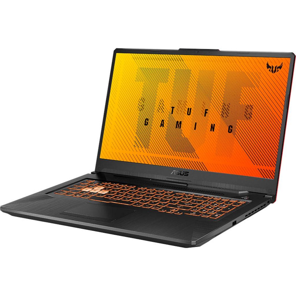 Asus Gaming-Notebook »TUF GAMING A17 FA706IH-H7049T«, (AMD Ryzen 5 GeForce GTX 1650\r\n 512 GB SSD)