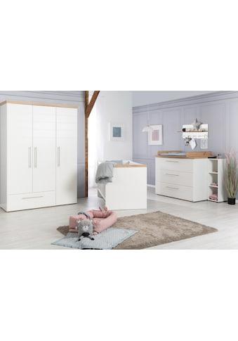 roba® Babyzimmer-Komplettset »Nele«, (Set, 3 St.), Made in Europe; mit Kinderbett,... kaufen