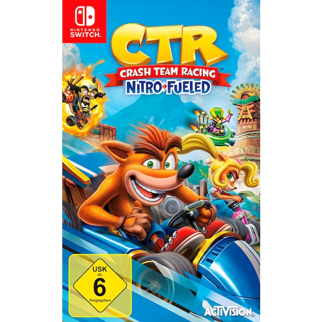 Activision Spiel »CTR Crash Team Racing Nitro Fueled«, Nintendo Switch