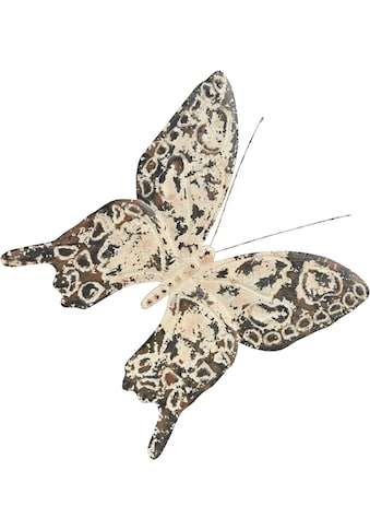 Home affaire Wanddekoobjekt »Wanddeko Vintage Butterfly« kaufen