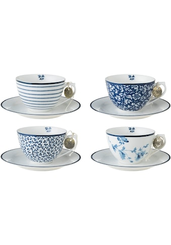 LAURA ASHLEY BLUEPRINT COLLECTABLES Cappuccinotasse »Mix Designs China Rose, Sweet... kaufen