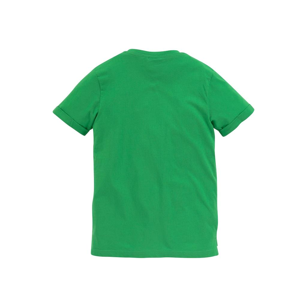 Minecraft T-Shirt, Saum hinten länger