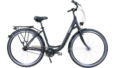 HAWK Bikes Cityrad »HAWK City Wave Easy Black«, 7 Gang Shimano Nexus Schaltwerk kaufen