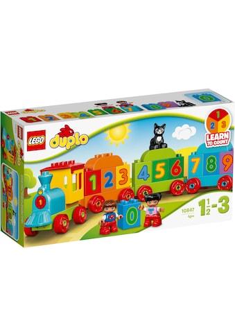 """LEGO® Konstruktionsspielsteine """"Zahlenzug (10847), LEGO® DUPLO®"""", (23 - tlg.) kaufen"""