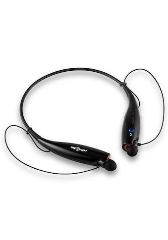ONECONCEPT Bluetooth-Kopfhörer Akku Freisprechanlage Vibrationsalarm kaufen