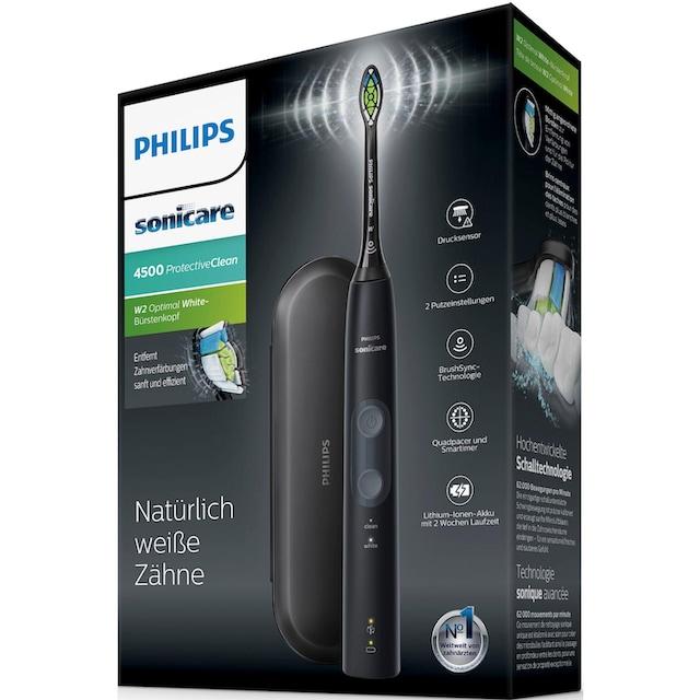 Philips Sonicare Schallzahnbürste HX6830/53 ProtectiveClean 4500, Aufsteckbürsten: 1 Stk.