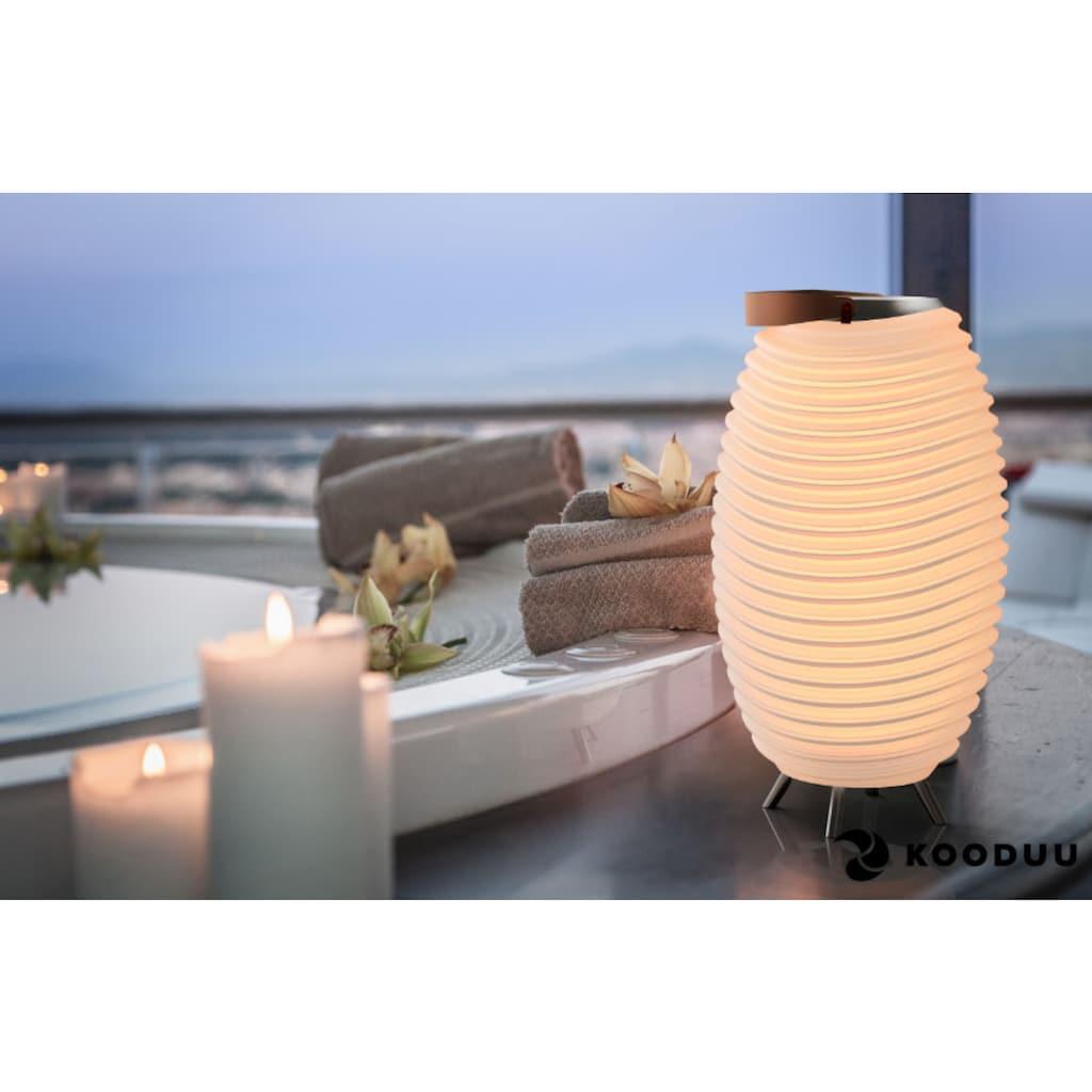 kooduu LED Stehlampe »Synergy Pro«, 1 St., Warmweiß, Soundsystem beliebig koppelbar mit Pro-Serie, Getränkekühler, Vase, Akku, Tischleuchte, für den IN- und OUTDOOR-BEREICH