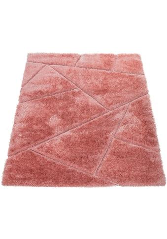 Hochflor - Teppich, »Palma 334«, Paco Home, rechteckig, Höhe 45 mm, maschinell gewebt kaufen