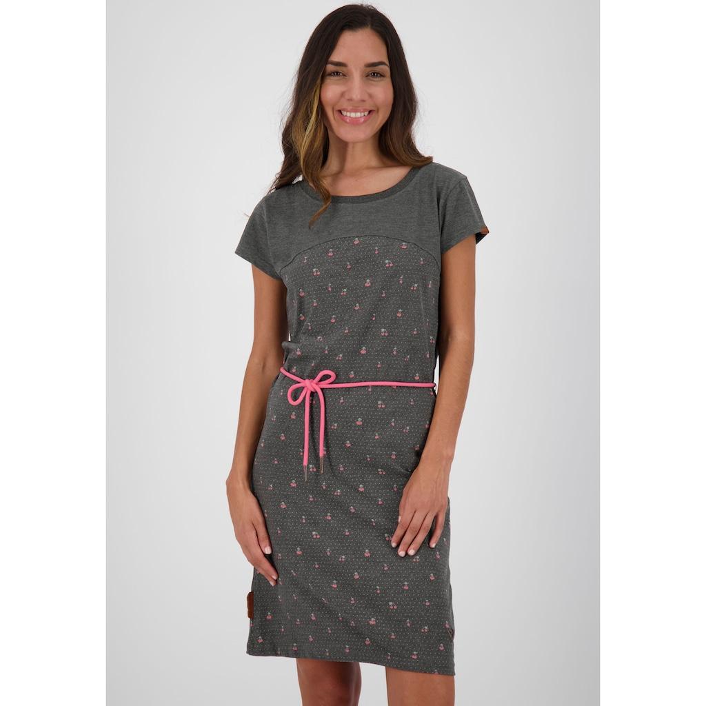 Alife & Kickin Jerseykleid »ClarissaAK«, (Set, 2 tlg., mit Bindegürtel), süßes Shirtkleid mit Bindegürtel
