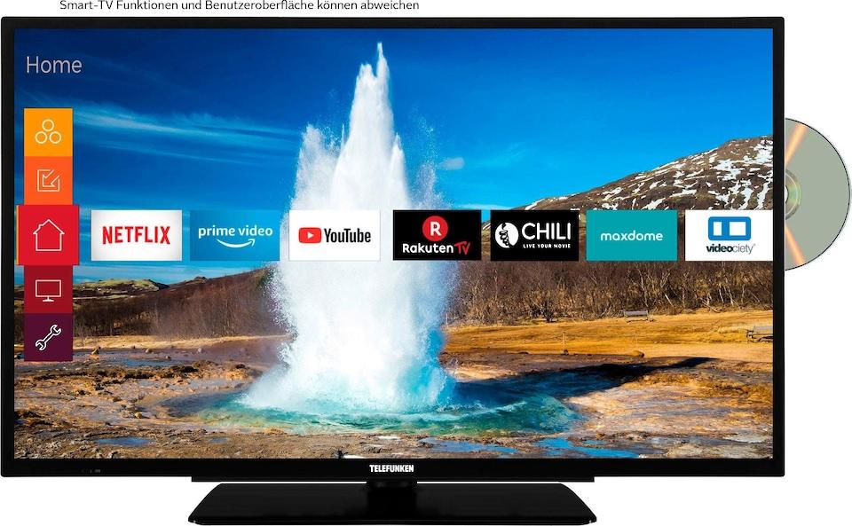 Telefunken D32h289m4cwd Led Fernseher 80 Cm 32 Zoll Hd Ready