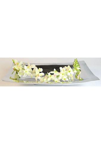 ARTRA Dekoschale »Aluminiumschale 'Bowl with Feet' L -Dekoration, Tischschale« kaufen