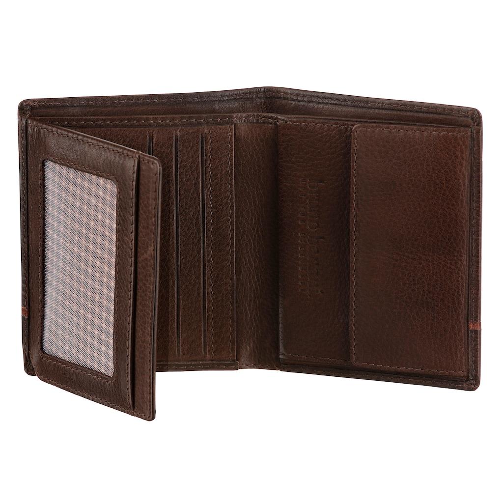 Bruno Banani Geldbörse, aus Leder im Hochformat