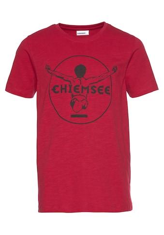 Chiemsee T-Shirt, mit dunklem Druck kaufen