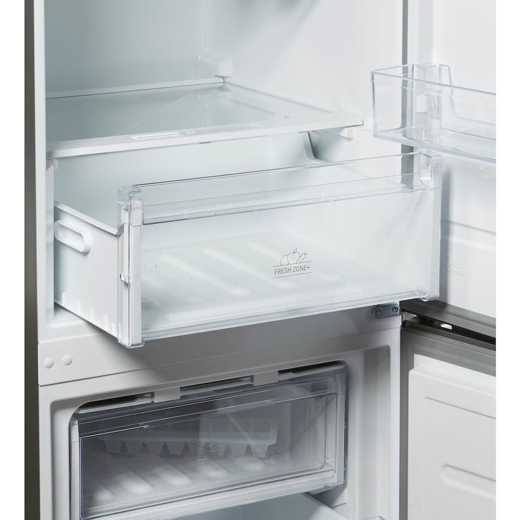 BAUKNECHT Kühl-/Gefrierkombination, 201 cm hoch, 59,5 cm breit