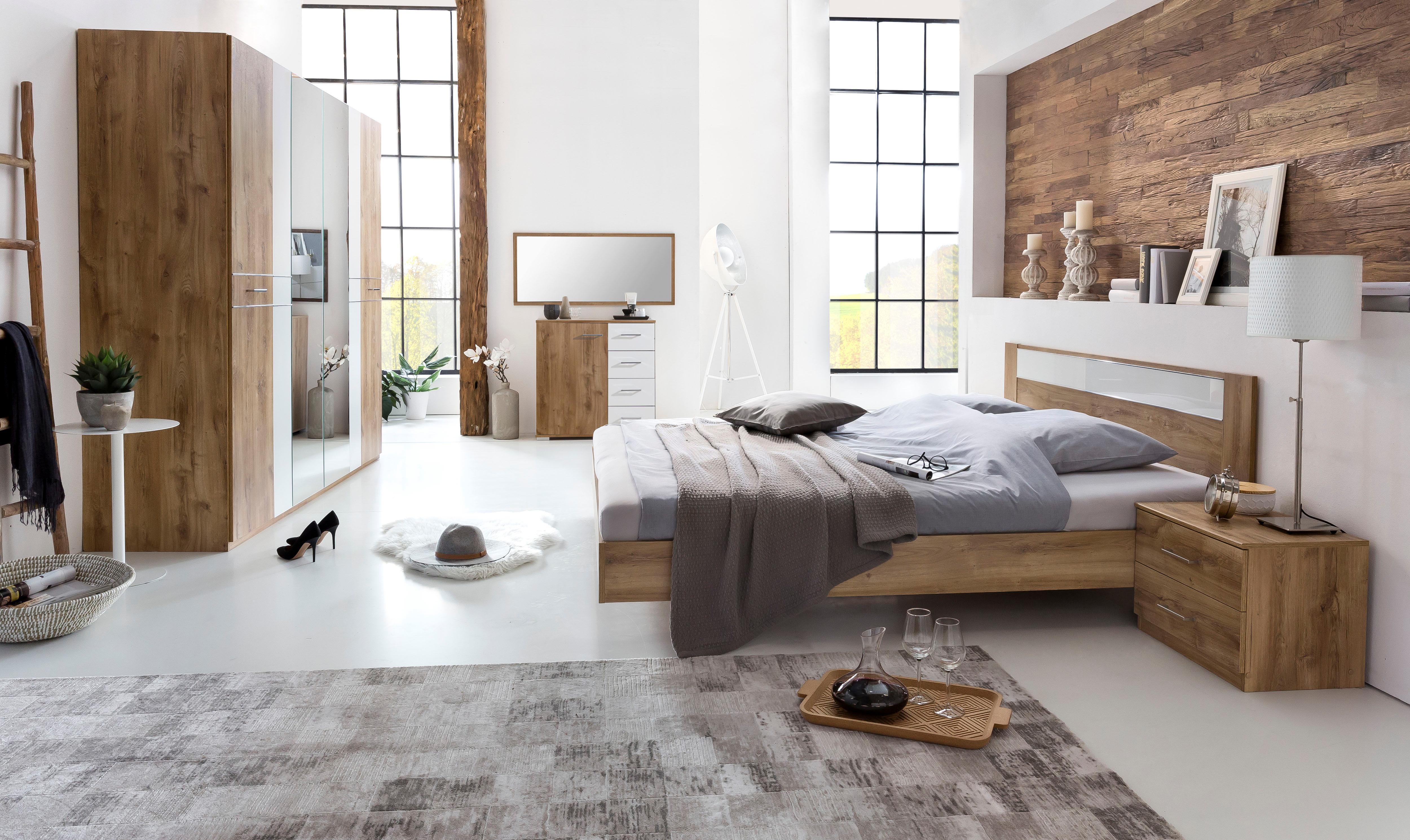 natur-glas Komplett-Schlafzimmer online kaufen | Möbel-Suchmaschine ...