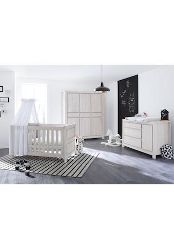Pinolino® Babyzimmer-Komplettset »Line«, (Set, 3 St.), extrabreit groß; mit... kaufen