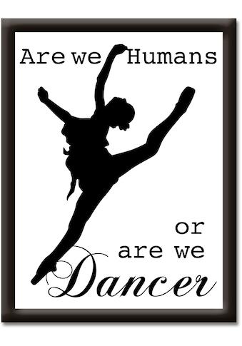 Artland Wandbild »Tänzer« kaufen