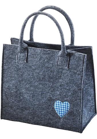 locker Aufbewahrungstasche »Blaues Herz« kaufen