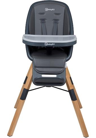 BabyGo Hochstuhl »Carou, grau«, Sitz um 360° drehbar kaufen