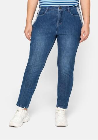 Sheego Stretch-Jeans, Slim fit Jeans in extrem dehnbarer Qualität kaufen