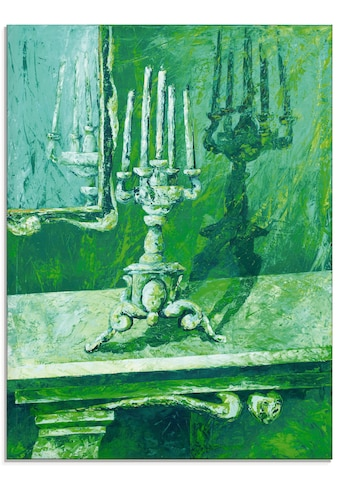 Artland Glasbild »Barocker Leuchter«, Innenarchitektur, (1 St.) kaufen