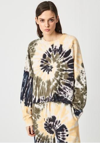 Pepe Jeans Sweater »ADELE«, in Batik Optik aus leichter Sweatware mit... kaufen