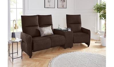 exxpo - sofa fashion 3-Sitzer, Inklusive Relaxfunktion und wahlweise Ablagefach kaufen