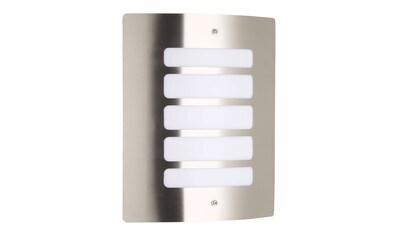 Brilliant Leuchten Außen-Wandleuchte »Todd«, E27, 1 St., Außenwandlampe edelstahl kaufen