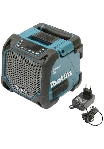 Makita Bluetooth-Lautsprecher »DMR202«, mit Netzteil, ohne Akku und Ladegerät kaufen