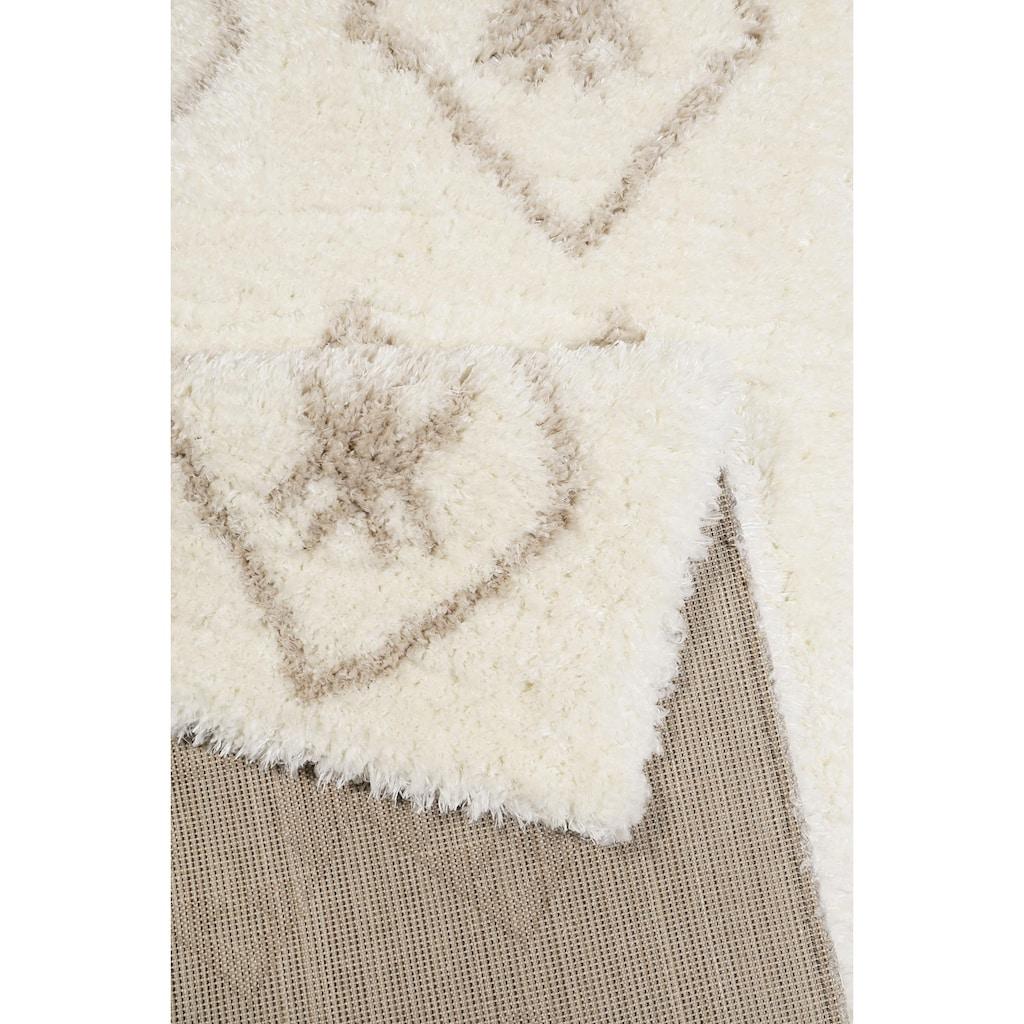 Wecon home Hochflor-Teppich »Ayachi«, rechteckig, 50 mm Höhe, Wohnzimmer