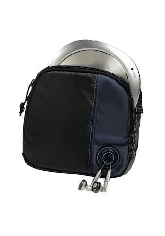 Hama CD-Player-Bag für Discman und 3 CDs, Schwarz/Blau kaufen