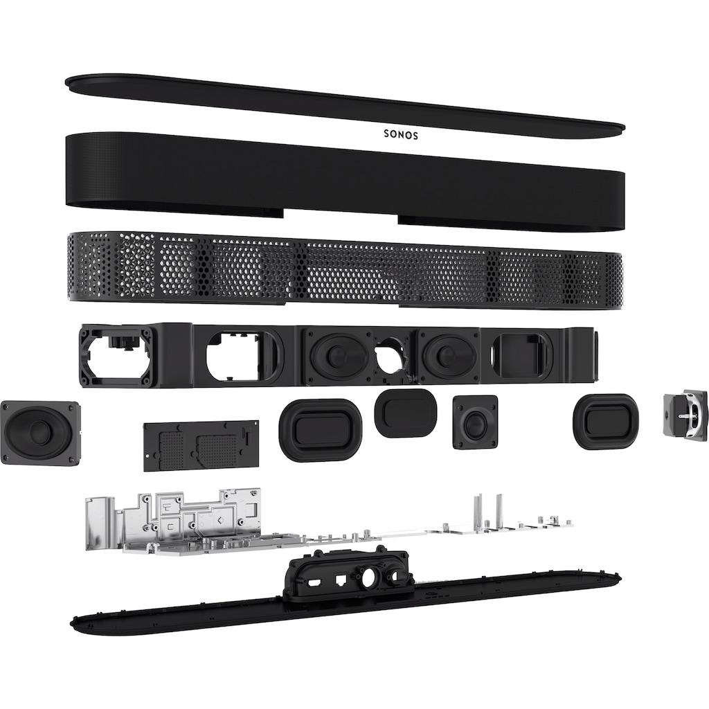Sonos Soundbar »Beam Gen.2 Smarte TV«, Dolby Atmos-AirPlay 2-Sprachsteuerung