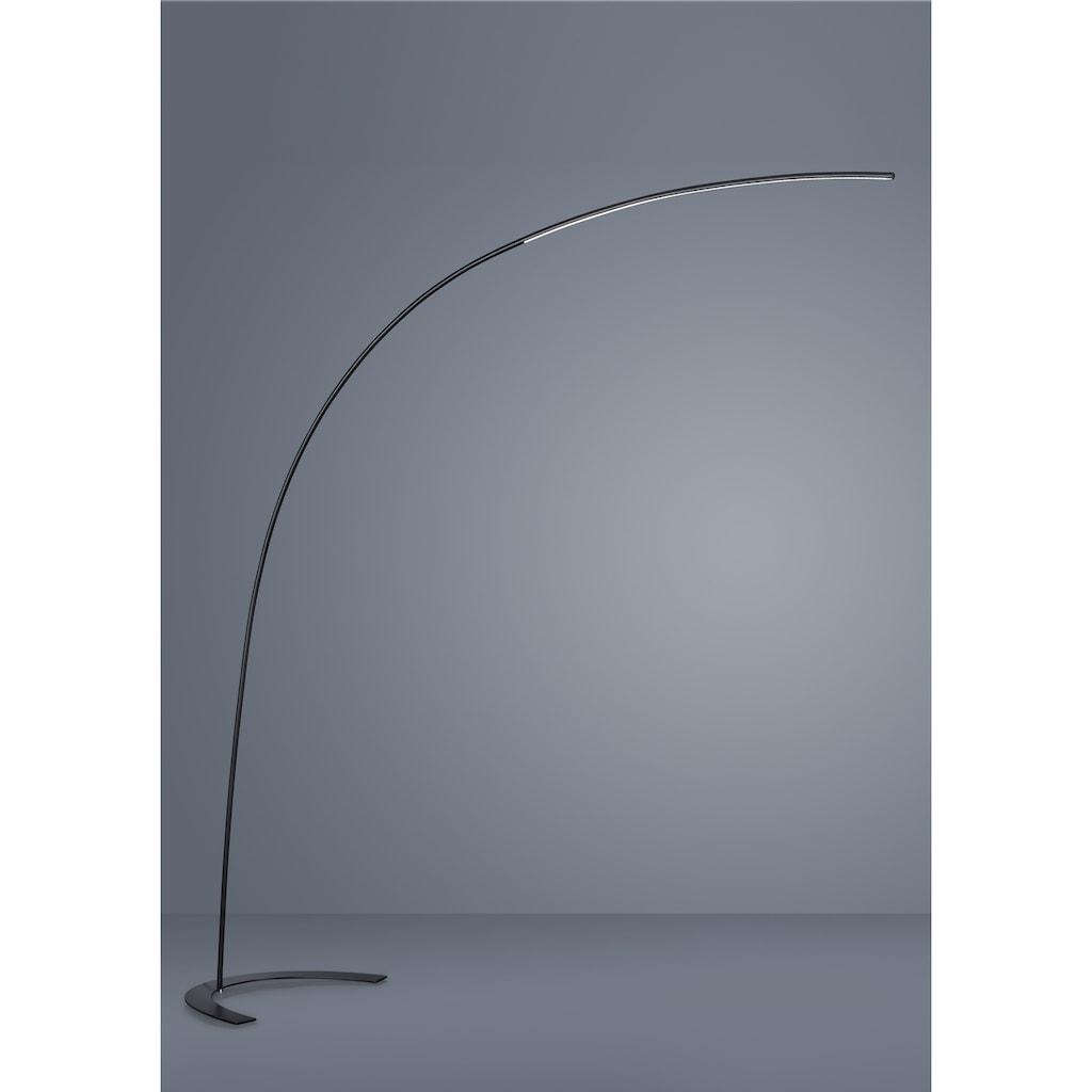 TRIO Leuchten LED Bogenlampe »SHANGHAI«, LED-Board, Warmweiß, mit Fußdimmer