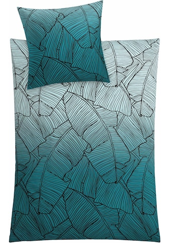 Kleine Wolke Bettwäsche »Vero«, mit Palmenblattmuster kaufen