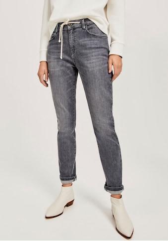 OPUS Boyfriend-Jeans »Louis«, (2 tlg., mit Bindeband), mit Kordelzug kaufen