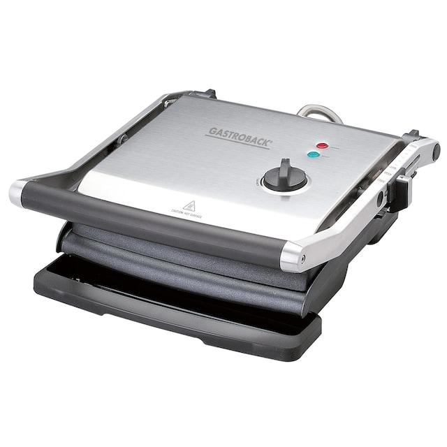 Gastroback Kontaktgrill Health Smart Grill Pro 42514, 2200 Watt