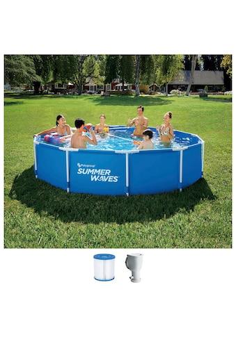 SummerWaves Rundpool »Active«, ØxH: 366x76 cm kaufen