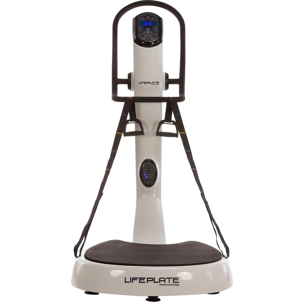 MAXXUS Vibrationsplatte »Lifeplate 7.0«, (Set, 3 tlg., mit Trainingsbändern)