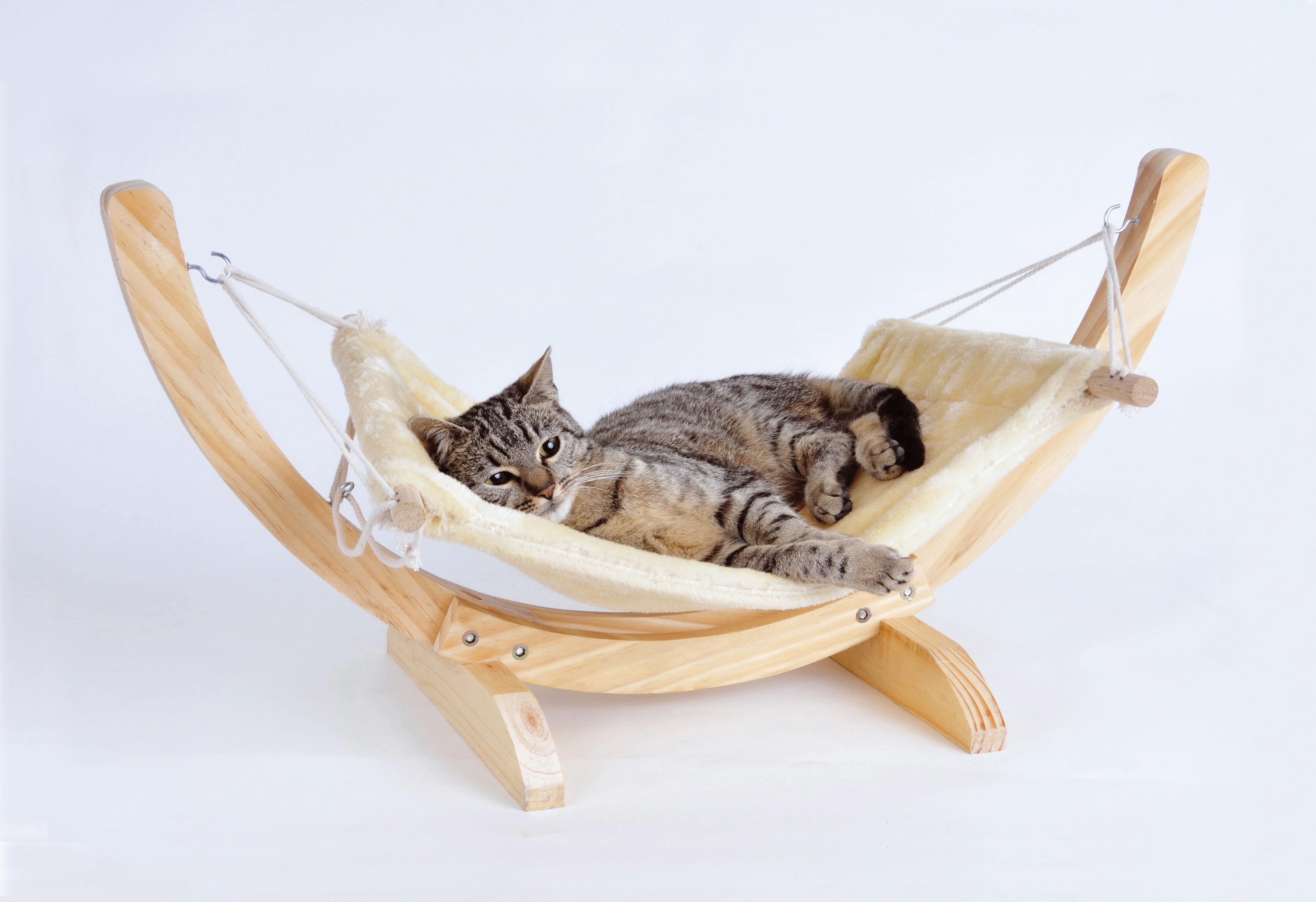 Katzen-Hängematte »Cat Relax« | Garten > Tiermöbel > Katzenkörbe | Natur | SILVIO DESIGN