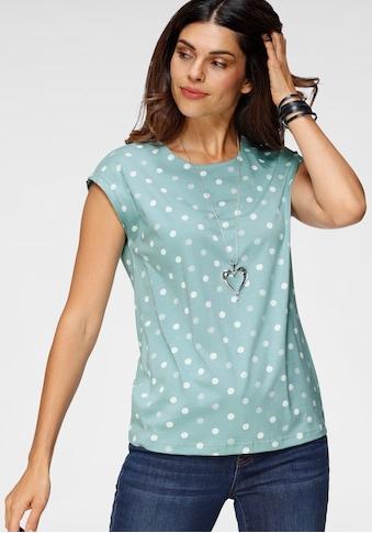Boysen's T-Shirt, Mit überschnittenen Schultern kaufen