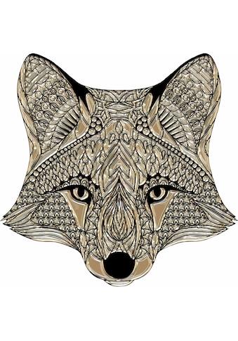 Wandtattoo »Metallic Fox« kaufen
